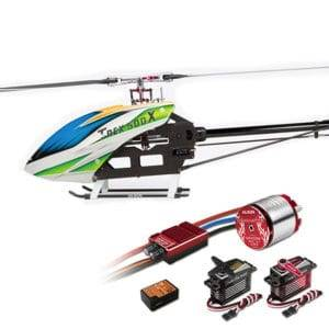 ALIGN T-REX 500X RC Helicopter Dominator Super Combo