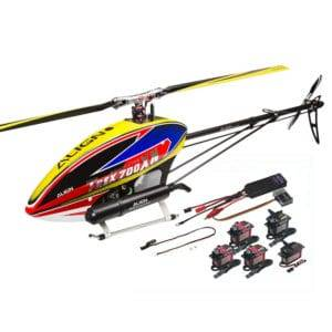 ALIGN T-REX 700XN RC Helicopter Dominator Super Combo