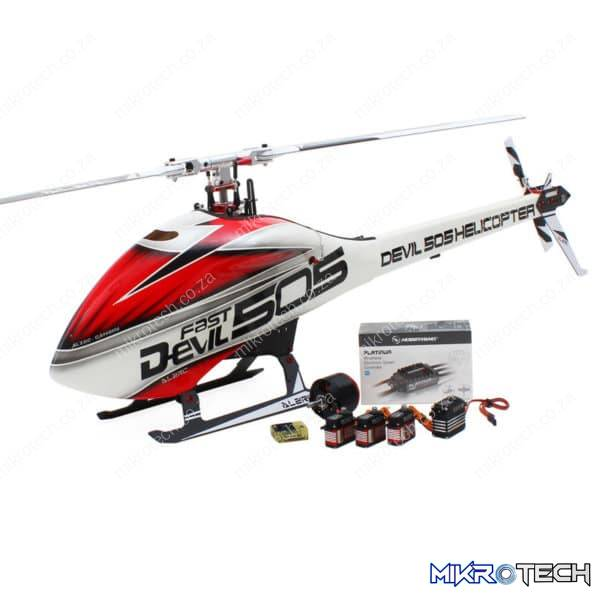 ALZRC Devil 505 RC Helicopter Super Combo