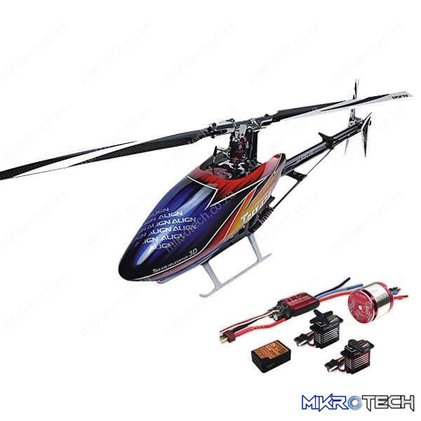 Align T-REX 470LM RC Helicopter Super Combo
