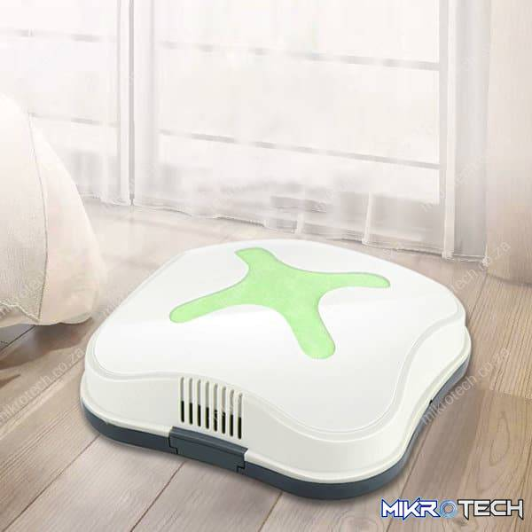Automatic USB Charging Mini Cleaner Household Low Noise Vacuum Cleaner(Green)