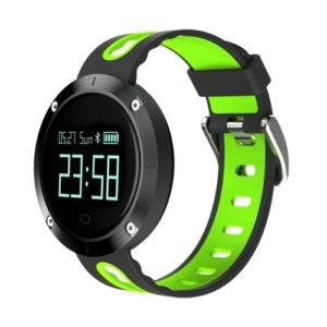 DOMINO DM58 0.95 Inch OLED Large Touch Screen Display Sport Smart Bracelet, IP68 Waterproof and Dustproof, Support Pedometer / Heart Rate Monitor / Blood Pressure Monitor / Notification Remind / Call Reminder / Sedentary Reminder / Sleep Monitor, Compatible with Android and iOS Phones(Green)
