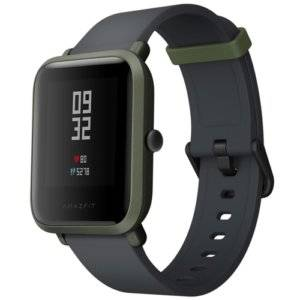 Original International Edition Xiaomi Amazfit Bip Lite Version Ultra-light 1.28 inch Screen Display IP68 Waterproof Smart Watch Youth Edition, Support GPS + GLONASS Compass & Heart Rate Monitor & Motion(Green)