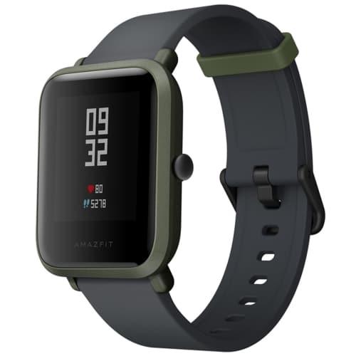 Original International Edition Xiaomi Amazfit Bip Lite Version Ultra-light 1.28 inch Screen Display IP68 Waterproof Smart Watch Youth Edition, Support GPS + GLONASS Compass & Heart Rate Monitor & Motion(Green)