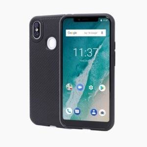 Cloth Texture TPU Protective Leather Case for Ulefone X (Black)