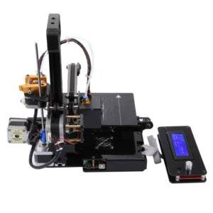D1 3D Aluminum Alloy Three-Dimensional Physical Printer with LCD Display