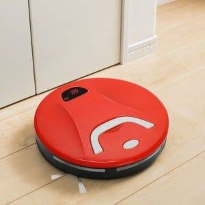 FD-RSW(B) Smart Household Sweeping Machine Cleaner Robot(Red)