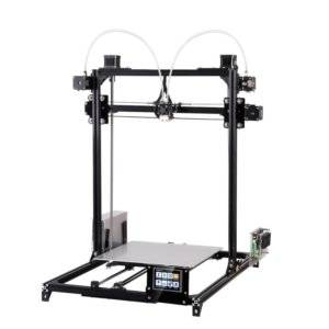 FLSUN_C Plus Touch Screen Dual Nozzle 3D Printer i3 Plus DIY Kit with Auto Leveling RepRap Desktop 3D Printing Heated Bed