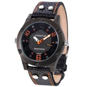 FOXWEAR F28 PU Leather Band Bluetooth V4.0 Sports Smart Watch