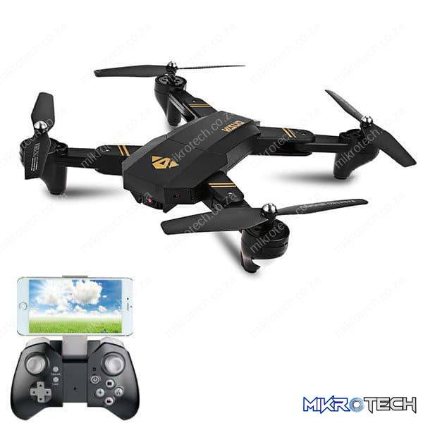 FlyPro Visuo XS809HW - Drone With HD 720p Camera