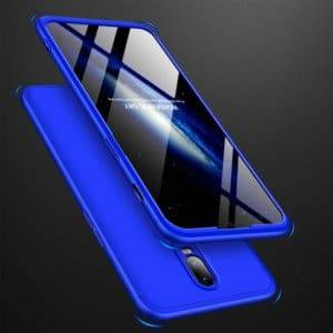 GKK Three Stage Splicing Full Coverage PC Case for OnePlus 6T (Blue)