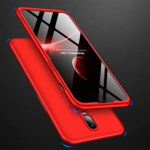 GKK Three Stage Splicing Full Coverage PC Case for OnePlus 6T (Red)