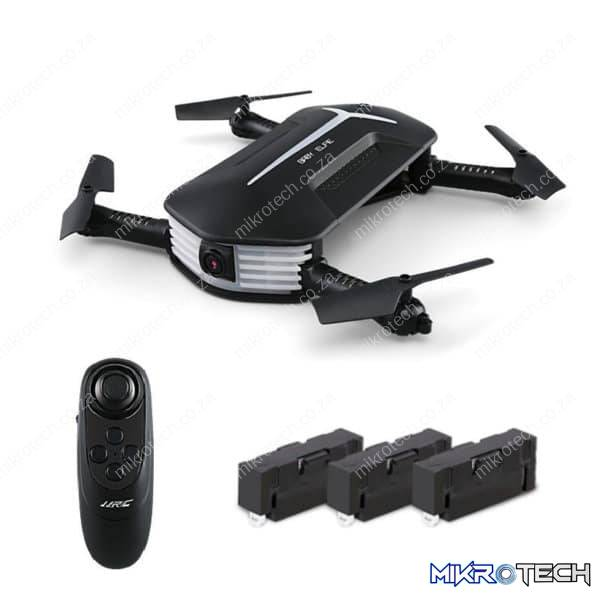 JJ R/C H37 Mini Baby Elfie - Drone With HD 720p Camera (Fly More Combo)