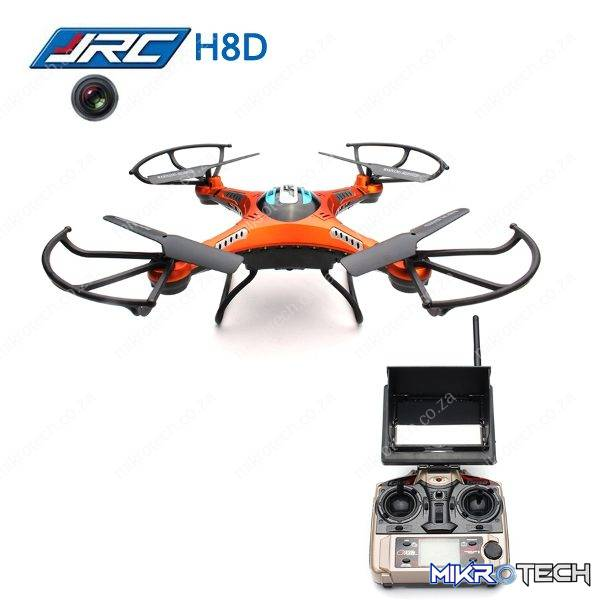 JJ R/C H8D - Drone With HD 720p Camera