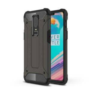 Magic Armor TPU + PC Combination Case for One Plus 6(Bronze)