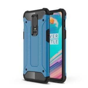 Magic Armor TPU + PC Combination Case for OnePlus 6(Blue)