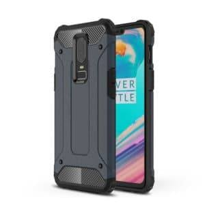 Magic Armor TPU + PC Combination Case for OnePlus 6(Navy Blue)