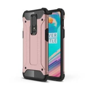 Magic Armor TPU + PC Combination Case for OnePlus 6(Rose Gold)