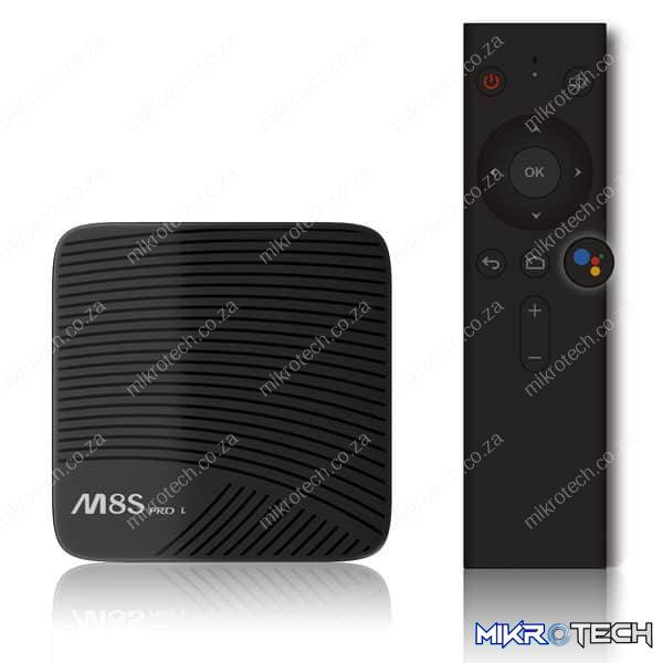 MeCool M8S Pro L - Android TV Box With Voice Control