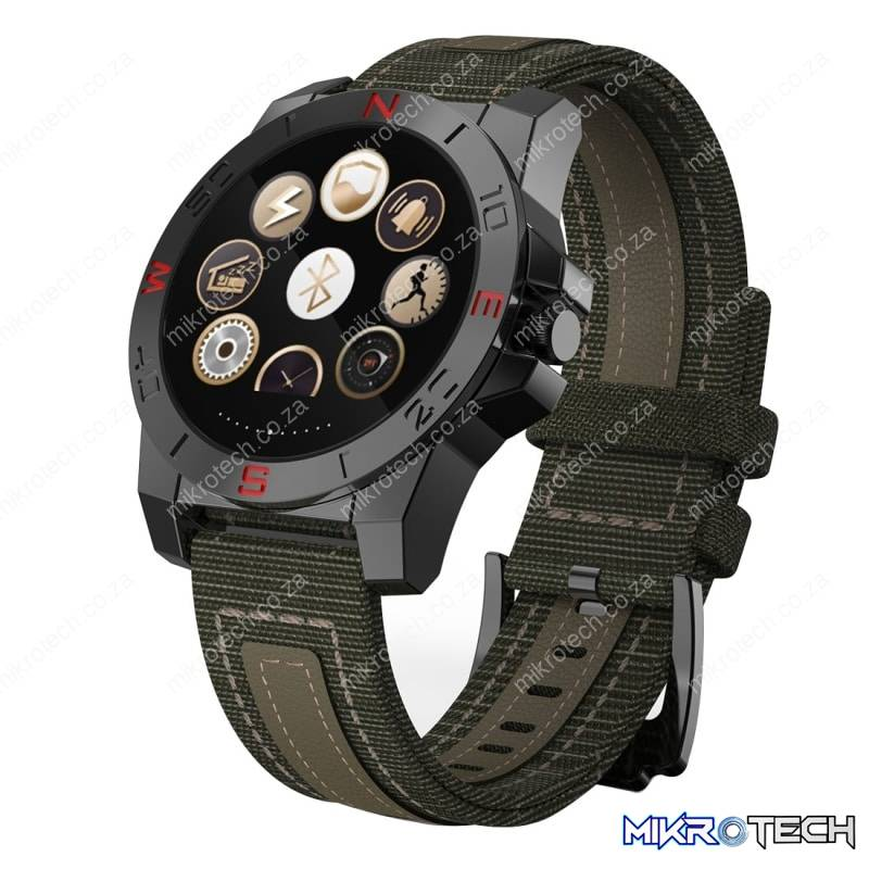 Support Pedometer / Compass / Anti-lost Reminder / Thermometer / Elevation / Remote Camera / Call Indication(Black)