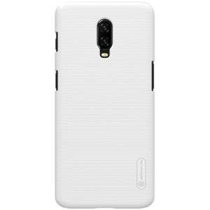 NILLKIN Frosted Concave-convex Texture PC Case for OnePlus 6T (White)