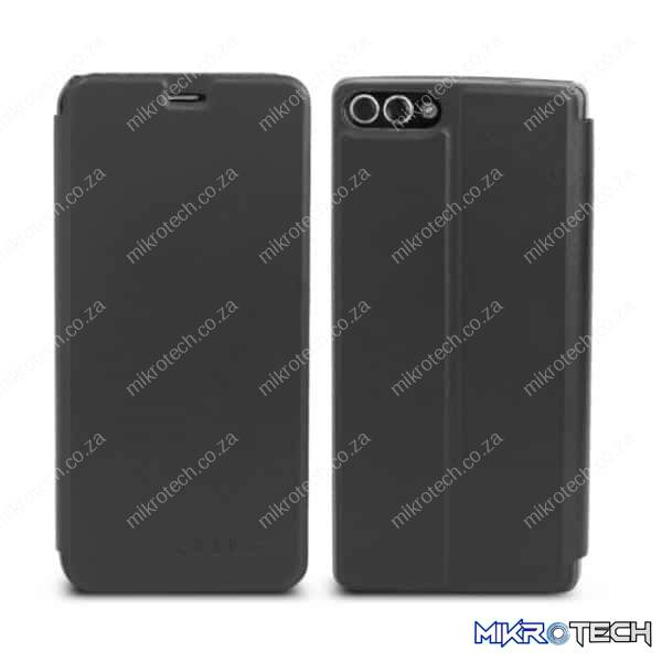 OCUBE for HOMTOM S9 Plus (MPH1900) Spring Texture Horizontal Flip Leather Case with Holder(Black)