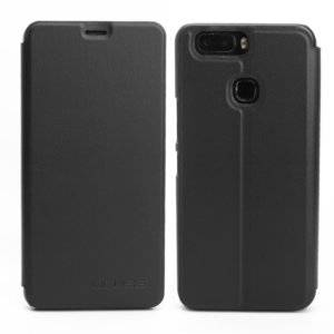OCUBE for Leagoo S8 Pro (MPH1942) Spring Texture Horizontal Flip Leather Case with Holder(Black)