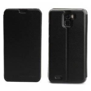 OCUBE for OUKITEL K5000 (MPH1765) Spring Texture Horizontal Flip Leather Case with Holder(Black)