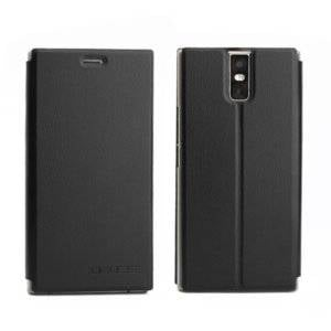 OCUBE for Oukitel K3 (MPH1988) Spring Texture Horizontal Flip Leather Case with Holder(Black)