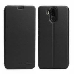 OCUBE for Ulefone Power 3 (MPH1327) Spring Texture Horizontal Flip Leather Case with Holder (Black)
