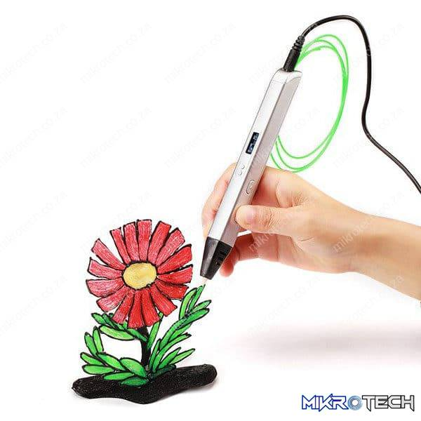 OLED Display 3D Printing Pen RP800A 5V 2A USB Power 0.6mm Nozzle Adjustable Speed