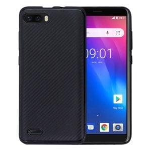 Original Carbon Fibre Texture TPU Protective Case for Ulefone S1(Black)