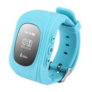 Support SIM Card / Anti-lost / SOS Call / Location Finder / Remote Monitor / Pedometer(Blue)