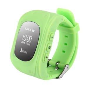 Support SIM Card / Anti-lost / SOS Call / Location Finder / Remote Monitor / Pedometer(Green)