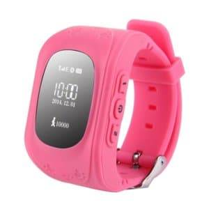 Support SIM Card / Anti-lost / SOS Call / Location Finder / Remote Monitor / Pedometer(Pink)
