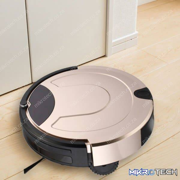 TOCOOL TC-650 Smart Vacuum Cleaner Touch Display Household Sweeping Cleaning Robot with Remote Control(Gold)