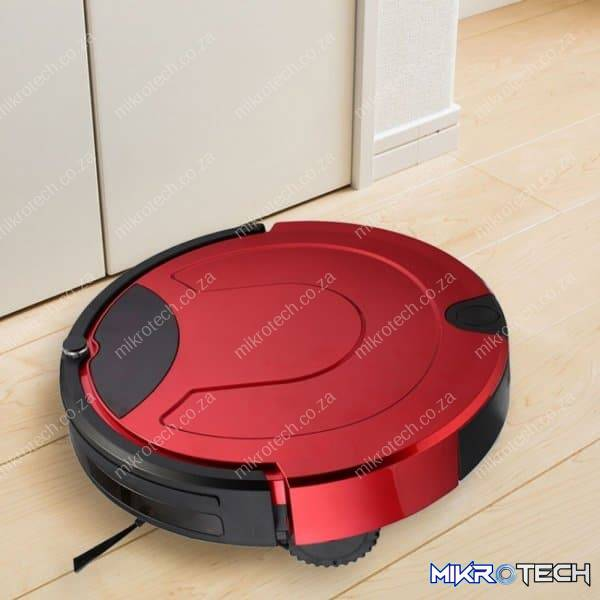 TOCOOL TC-650 Smart Vacuum Cleaner Touch Display Household Sweeping Cleaning Robot with Remote Control(Red)