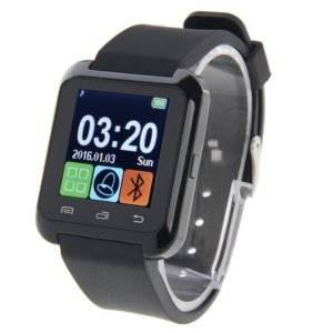 U80 Bluetooth Health Smart Watch 1.5 inch LCD Screen for Android Mobile Phone