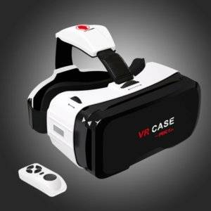 VR CASE RK-6TH Virtual Reality Glasses with Bluetooth Remote Control