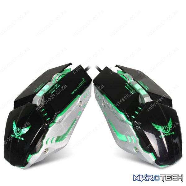 Zerodate X700 USB Wired LED Backlit Gaming Mouse (3200DPI)