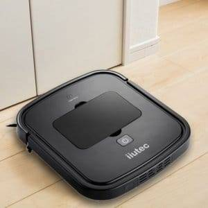 iiutec R-Cruiser Ultra Slim Vacuum Cleaner Household Cleaning Robot(Black)