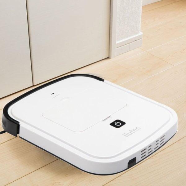 iiutec R-Cruiser Ultra Slim Vacuum Cleaner Household Cleaning Robot(White)