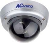 AC Unico Vandal Proof Dome 1/3 Sony 3.6MM