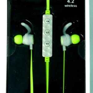 Geeko ZW-03 Wireless Earphones Green