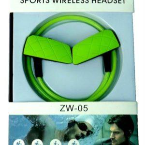 Geeko ZW-05 Sporty Wireless Earphones Green