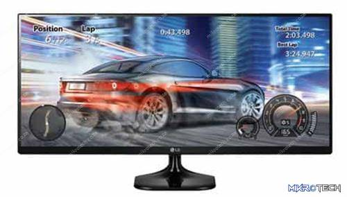 LG 25UM58-P 25 inch Ultra-Wide IPS LED Monitor
