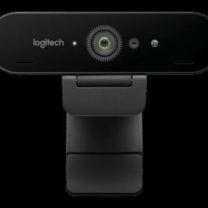 Logitech BRIO Webcam with 4K Ultra HD video & RightLight 3