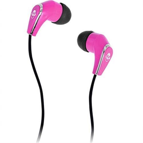 iDance Slam-20 In-Ear Stereo Earphones - Pink