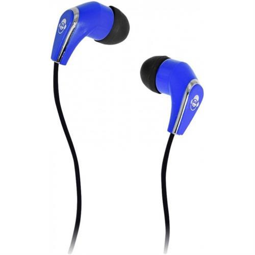 iDance Slam-25 In-Ear Stereo Earphones - Blue