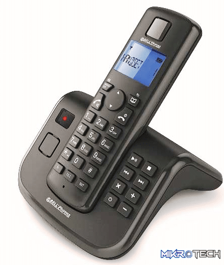 Bell Cordless Telephone AIR-05 - Dect Cordless Phone with TAM